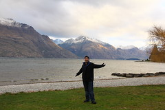 Happy in Queenstown
