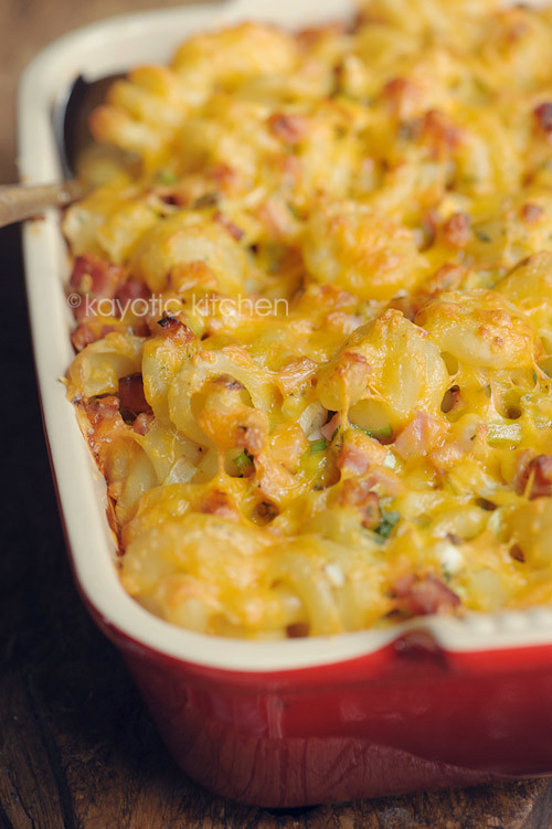 Breakfast Pasta Bake