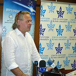 Press conference at Yuval Ne