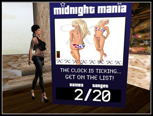 Kakia Designs - Bikini (Midnight Mania) by Cherokeeh Asteria