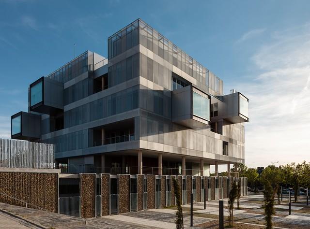 Voluar arquitectura. Comisaria Fuencarral #2