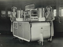 Central Railway Station, Sydney - mobile buffet service
