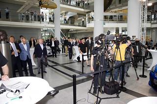 Pressekonferenz im Adam Opel Haus