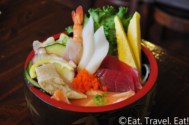 Sushi Imari- Costa Mesa, CA: Lunch Chirashi Bowl