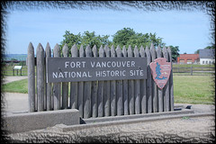 Fort Vancouver Sign