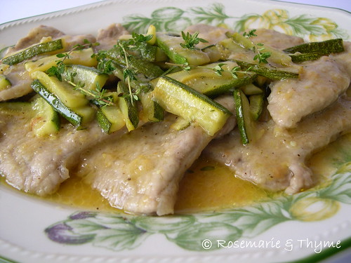 DSCN0242 - Scaloppine al limone2
