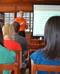 The chapter hosted an Access Across America presentation on June 26, 2012 by Joey Senat.