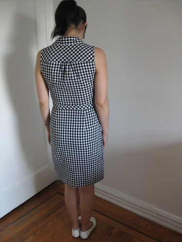 Check Mate Shirtdress