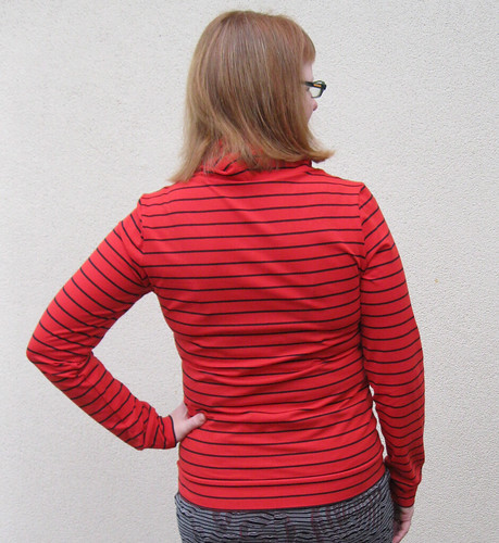 Renfrew top - back view