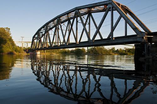Two Bridges by petetaylor