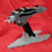 LEGO Phaser with display base