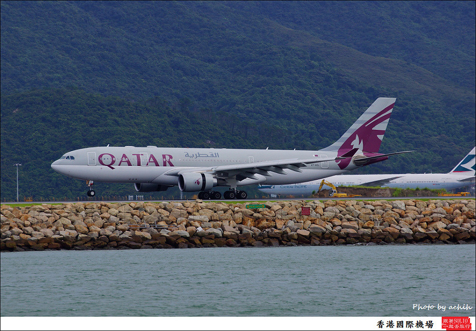 Qatar Airways / A7-ACL / Hong Kong International Airport