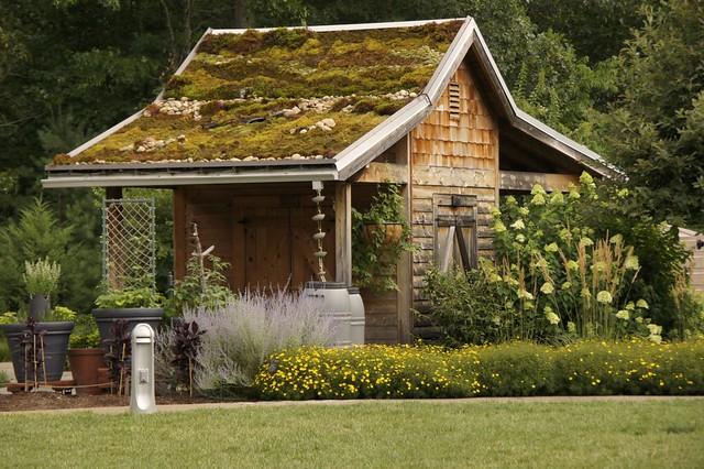 Pretty garden shed nc arboretum by cathy hennessy - Gartengestaltung asiatisch ...