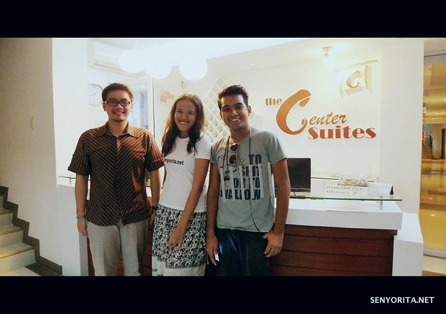 The Center Suites - Cebu City with Johnn and Fritz