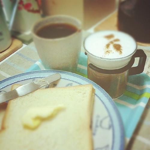早餐 ::: 奶泡機成果初初見面 by 南南風_e l a i n e