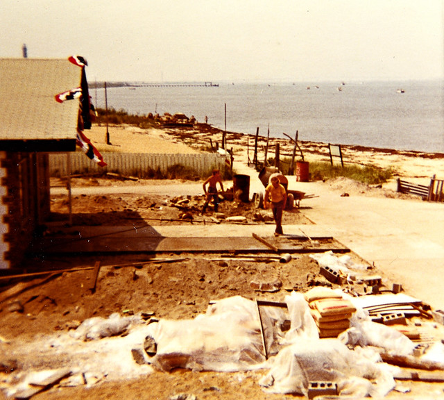 Kismet Fire Island: Kismet 1970. Green Isle. Now, The Surfs Out...