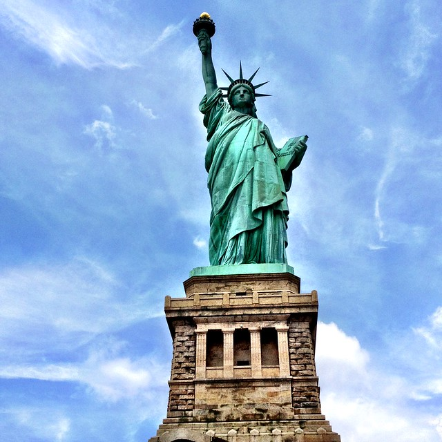 Statue of Liberty by CC user suewaters on Flickr