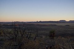 Davis Mountains Overlook at Sunset 3