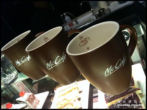 McDonald's McCafé Opens in Malaysia @ McCafe Kota Damansara & McCafe Bandar Utama