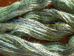 Tour de Fleece 2012 - Spindle spun yarn