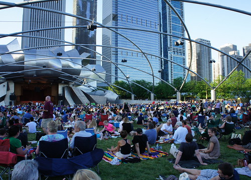 The Lawn - Jay Pritzker Pavilion