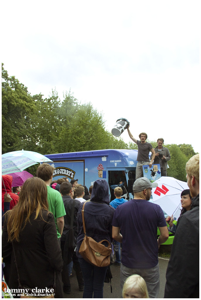 Ben and Jerry's in the park