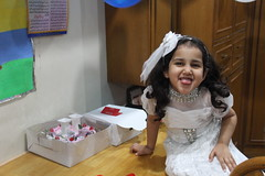 Marziya Shakir With Her Dads Birthday Cake by firoze shakir photographerno1