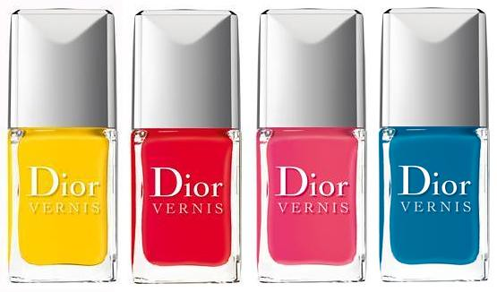 collection collezione 2012 dior summer mix vernis gloss addict ultra gloss acapulco calypso cosmo lagoon rouge croisiere pink bikini swatch swatches smalti gloss