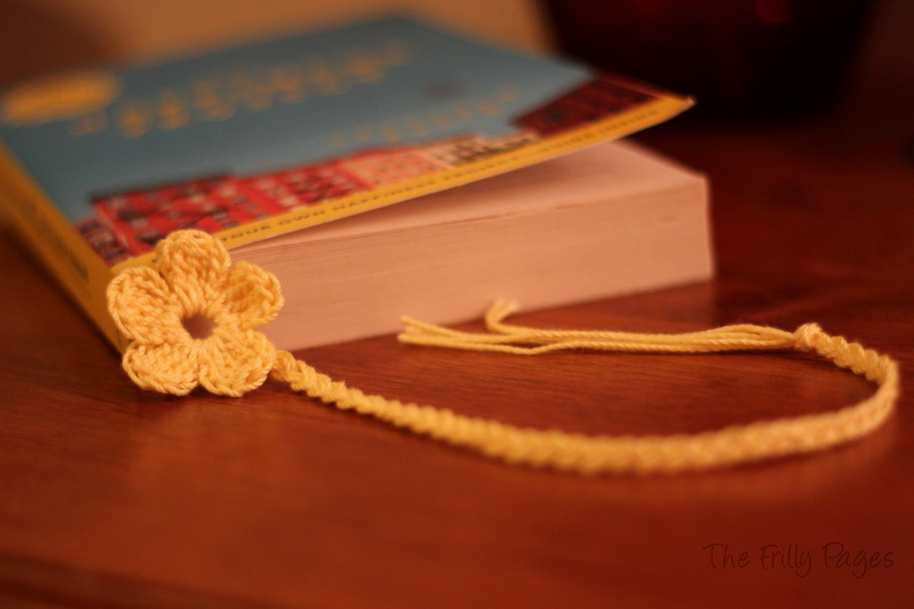 Flower & Braid Bookmark