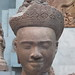 Head Of Devine Male (source location unknown) - style of Pre Rup, Collection Asie du Sud-Est, Musée national des Arts asiatiques Guimet, Paris by Pigalle