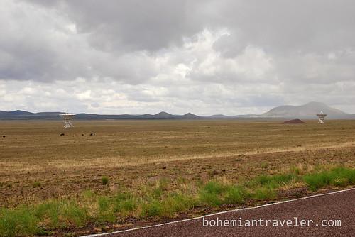 A view of the radio telescopes at the Very Large Array near Socorro, New Mexico, USA (2)