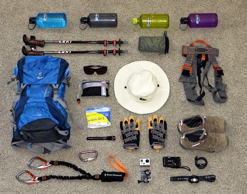 Half Dome Hike Gear