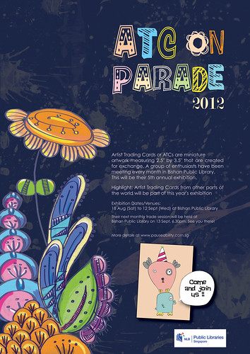 ATC on Parade 2012 poster