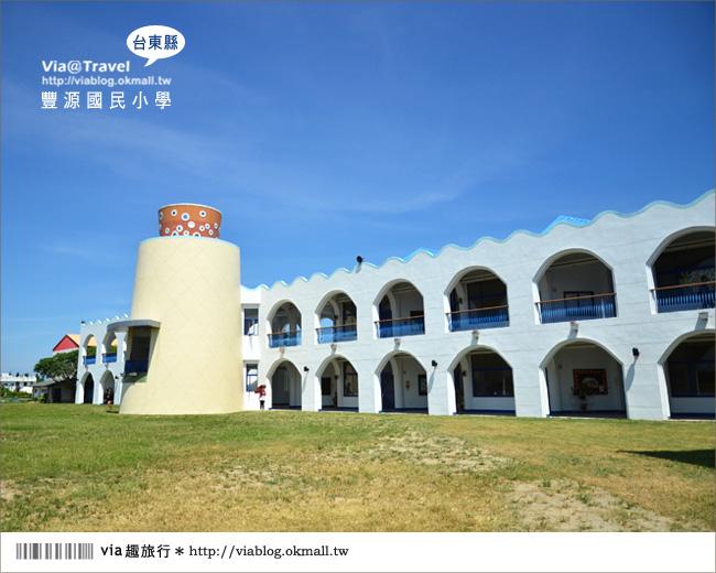 【台東地中海國小】台東豐源國小~一起探訪全台最美的小學!!19
