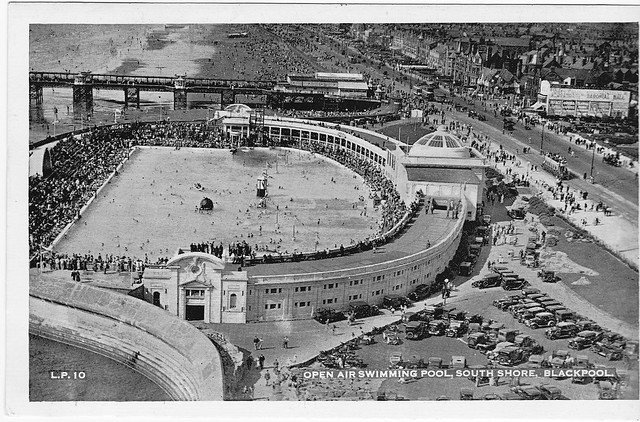 Blackpool South Shore Open Air Swimming Pool Lido