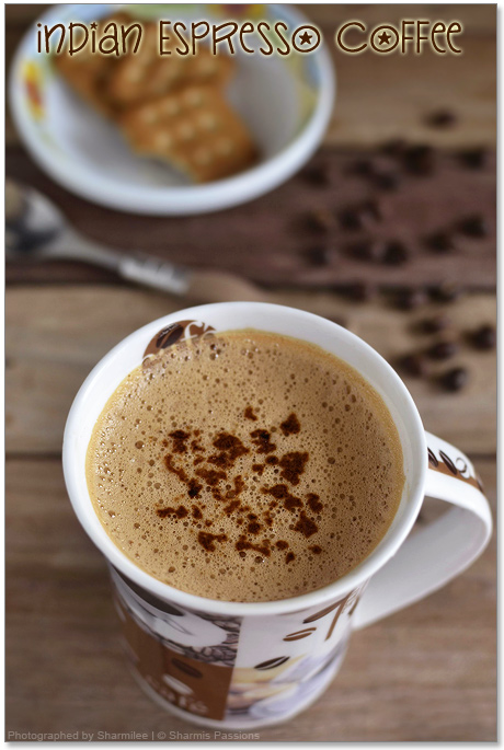 Indian Espresso Coffee | How to make espresso coffee at ...