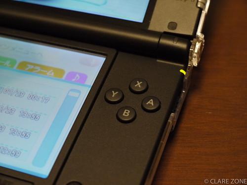 3DS LL ボタンはちょっと大きく押しやすく