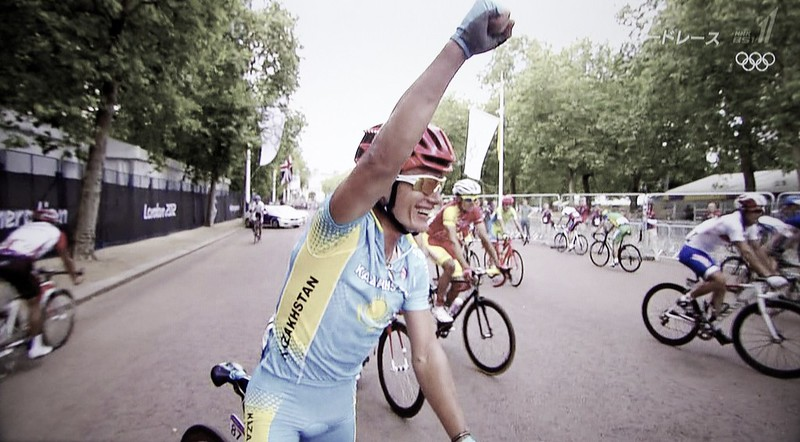 London Olympic 2012 Cycling Road Vinokourov got the Gold