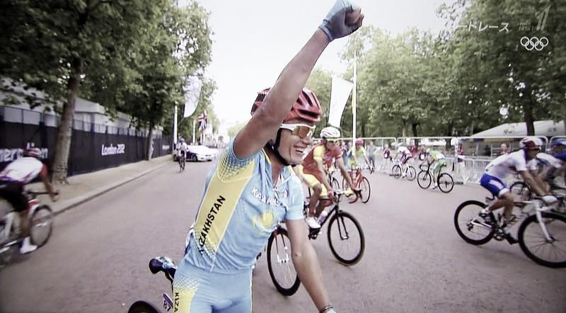 London Olympic 2012 Cycling Road Vinokourov got the Gold