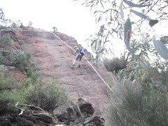 Abseiling At Namadgi National Park