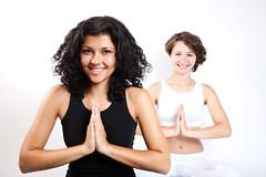 [免费图片素材] 人物, 女性, 体育, 肌力與體能訓練, 瑜伽, 人物 - 二人 ID:201208041800