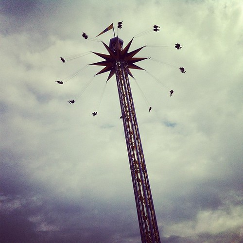 I'm a carnival daredevil, but I literally thought I would die on this ride