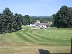 View from my room at Horseshoe Valley Inn