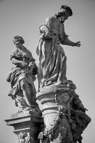 Statue of St. Ivo