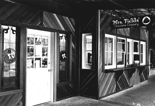 Mrs. Fields First Storefront