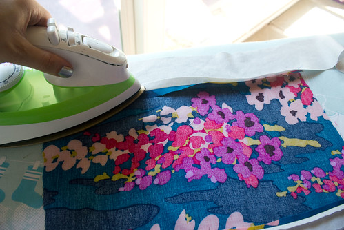 Ironing my seams