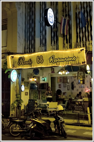 Route 68 Restaurant in Old Phuket Town