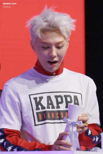 G-Dragon - Kappa 100th Anniversary Event - 26apr2016 - OAO-GDTOP - 16 (Custom)