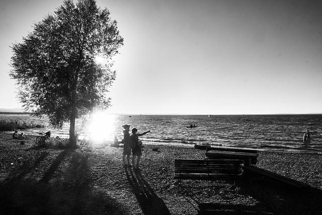 Before Sunset (monochrome)