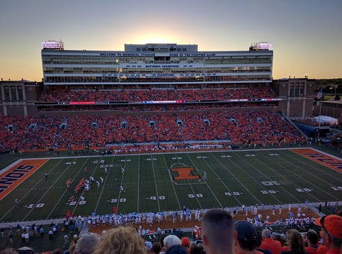 University of Illinois vs. University of North Carolina